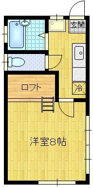 賃貸物件:山形市東青田3丁目(1K)